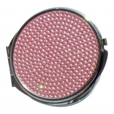 Watch Me Compact - Jeweled Pink