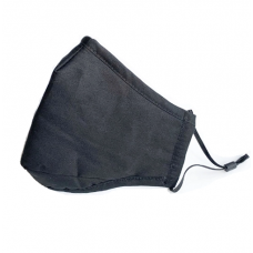 Reusable Cotton Face Mask  - Black