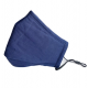 Reusable Cotton Face Mask - Navy